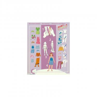 Игровой набор Умная бумага Кукла-наряжайка Сестренка Фото 2