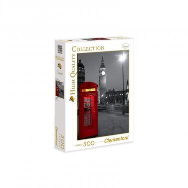 Пазл Clementoni Лондон.Телефонная будка 500 элементов Фото