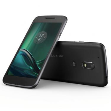 Мобильный телефон Motorola Moto G 4th gen Play (XT1602) 16Gb Black (SM4410AE7K7) - фото 4