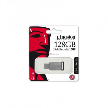 USB флеш накопитель Kingston 128GB DT50 USB 3.1 (DT50/128GB) - фото 4