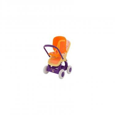 Коляска для кукол Polesie Прогулочная желтая Фото