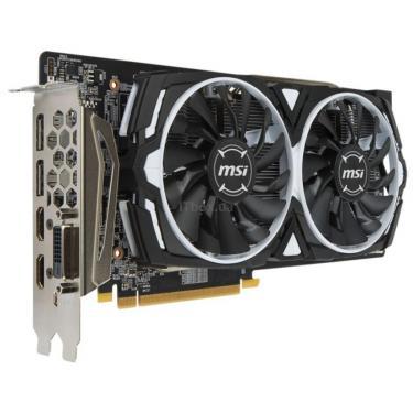 Видеокарта MSI Radeon RX 580 8192Mb ARMOR OC (RX 580 ARMOR 8G OC) - фото 3