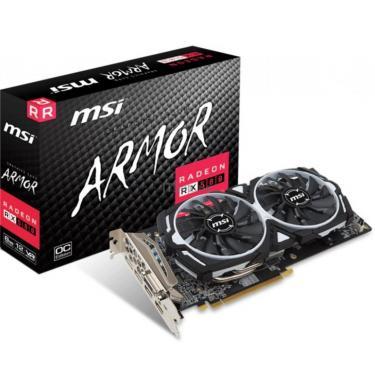 Видеокарта MSI Radeon RX 580 8192Mb ARMOR OC (RX 580 ARMOR 8G OC) - фото 1