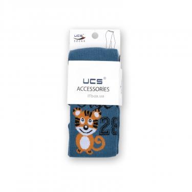 "Колготки UCS SOCKS ""Tiger"" (M0C0301-0857-7B-blue) - фото 5"
