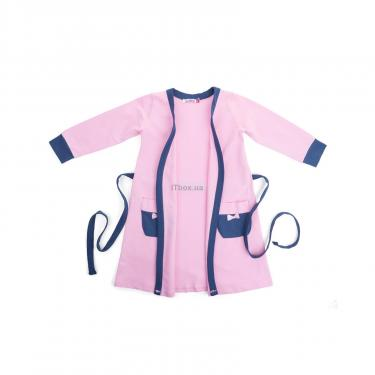 "Піжама Matilda і халат з ведмедиками ""Love"" (7445-122G-pink) - фото 4"