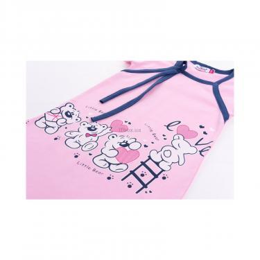 "Піжама Matilda і халат з ведмедиками ""Love"" (7445-122G-pink) - фото 8"