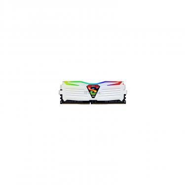 Модуль пам'яті для комп'ютера DDR4 16GB (2x8GB) 3200 MHz Super Luce White RGB Sync LED GEIL (GLWS416GB3200C16ADC) - фото 3