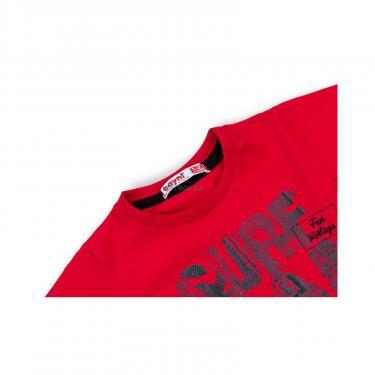 "Футболка детская Haknur ""SURF FUN VINTAGE"" (972-92B-red) - фото 3"