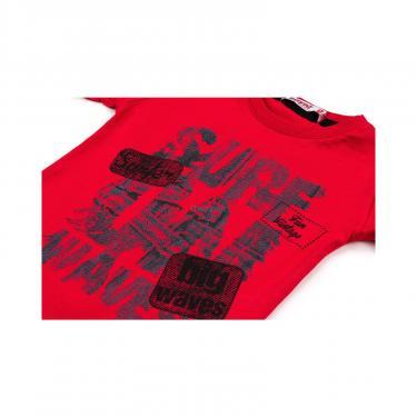 "Футболка детская Haknur ""SURF FUN VINTAGE"" (972-92B-red) - фото 4"