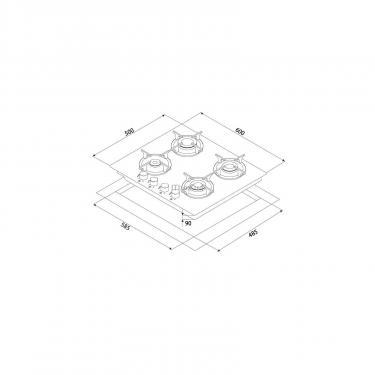 Варочная поверхность Minola MGG 61005 WH Фото 6