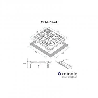 Варочная поверхность MINOLA MGM 61424 I - фото 5