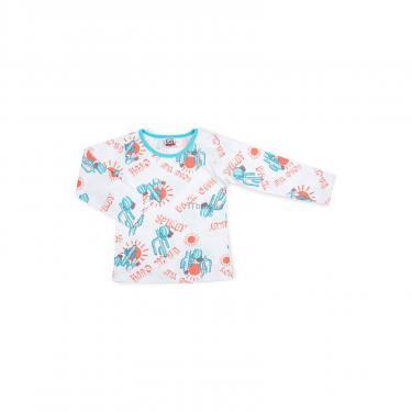 Пижама Breeze с кактусами (10020-122B-white) - фото 2