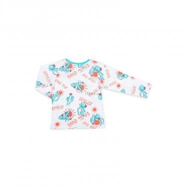 Пижама Breeze с кактусами (10020-122B-white) - фото 5