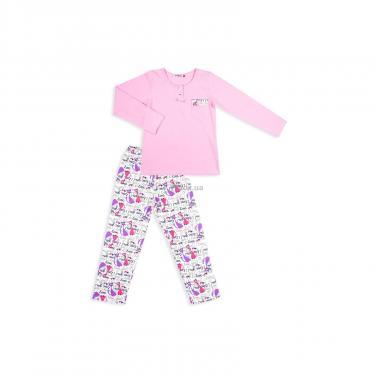 Пижама Matilda с котиками (4158-134G-pink) - фото 1