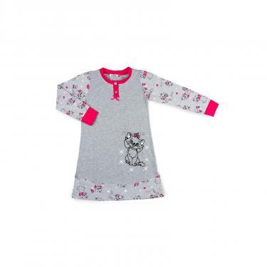 Пижама Matilda с котом (7364-164G-gray) - фото 1