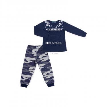 """Пижама Matilda """"CHAMPIONS"""" (9007-116B-blue) - фото 1"""