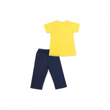 "Пижама Matilda ""ATHLETIC"" (8778-128B-yellow) - фото 4"