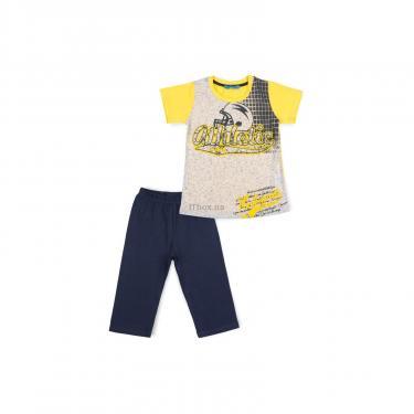 "Пижама Matilda ""ATHLETIC"" (8778-128B-yellow) - фото 1"