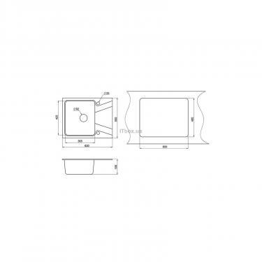 Мойка кухонная Minola MPG 1140-62 Антик Фото 1