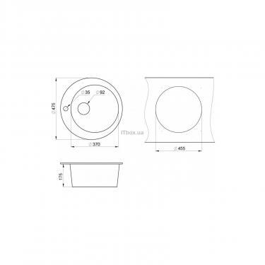 Мойка кухонная Minola MRG 1040-48 Классик Фото 1
