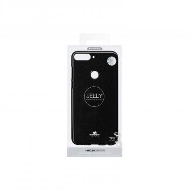 Чехол для моб. телефона Goospery Jelly Case для Huawei Y7 Prime 2018 Black (8809610540454) - фото 3