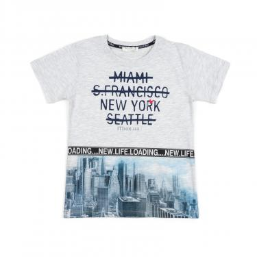 """Набір дитячого одягу Breeze """"NEW YORK"""" (12746-152B-blue) - фото 2"""