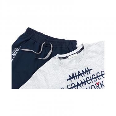 """Набір дитячого одягу Breeze """"NEW YORK"""" (12746-152B-blue) - фото 4"""