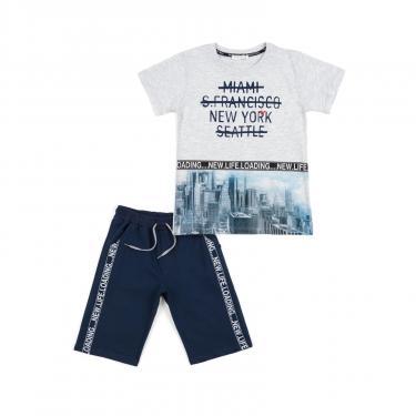 """Набір дитячого одягу Breeze """"NEW YORK"""" (12746-152B-blue) - фото 1"""