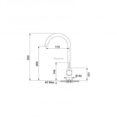 Кухонный смеситель Franke Pola (115.0328.184) - фото 2