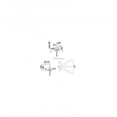 Кухонний змішувач BLANCO FONTAS II ХРОМ (523128) - фото 2
