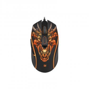 Мышка Defender Monstro GM-510L Black Фото 1