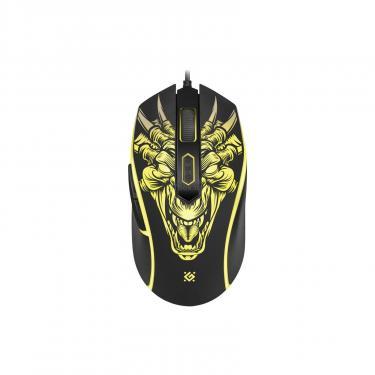 Мышка Defender Monstro GM-510L Black Фото 2