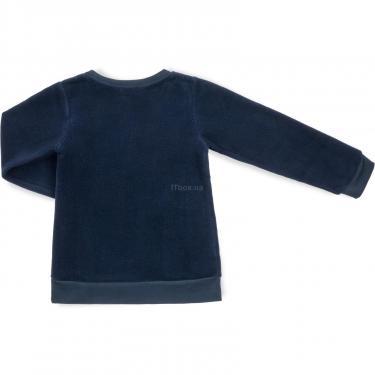"""Пижама Matilda флисовая """"FOOTBALL ACADEMY"""" (7536-3-122B-blue) - фото 5"""
