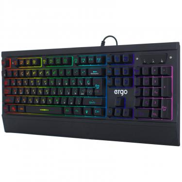 Клавиатура Ergo KB-640 Black (KB-640) - фото 3