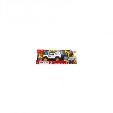 Игровой набор Dickie Toys Плейлайф. Строительство дороги со звук. и свет. э Фото 1
