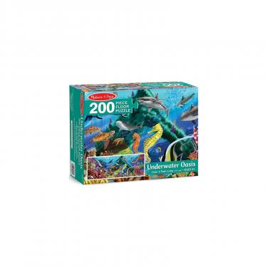 """Пазл Melissa&Doug Мега """"Підводний оазис"""", 200 елементів Фото 2"""