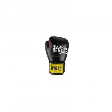Боксерские перчатки Benlee Fighter 12oz Black/Red (194006 (blk/red) 12oz) - фото 2