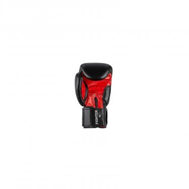Боксерские перчатки Benlee Fighter 12oz Black/Red (194006 (blk/red) 12oz) - фото 3