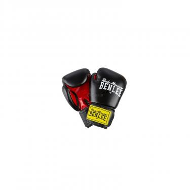 Боксерские перчатки Benlee Fighter 12oz Black/Red (194006 (blk/red) 12oz) - фото 1