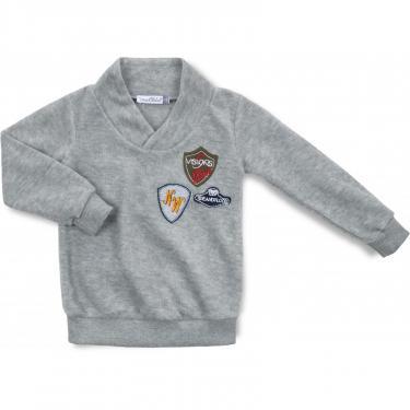 Пижама Matilda флисовая (9124-2-104B-gray) - фото 2