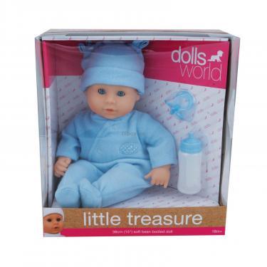 Пупс Dolls World Моя жемчужинка в голубом, 38 см Фото 1