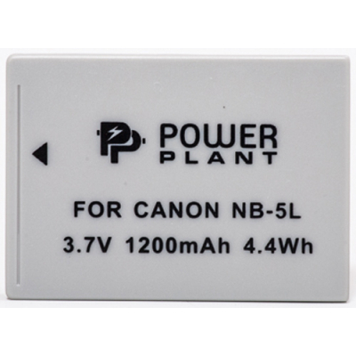 Аккумулятор к фото/видео Canon NB-5L PowerPlant (DV00DV1160)