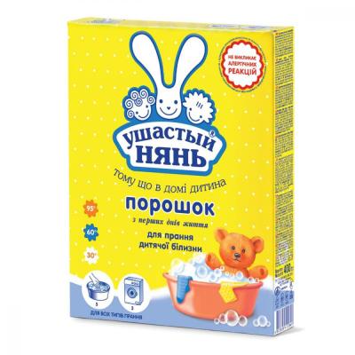 Стиральный порошок Ушастый нянь для детского белья 400 г (4820026412849)