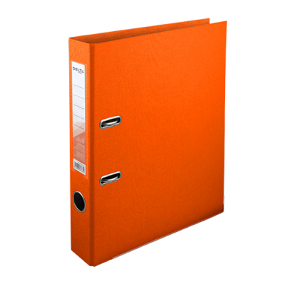 Папка - регистратор Delta by Axent double-sided PP 5 cм, assembled, orange (D1711-09C)