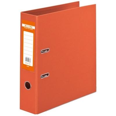 Папка - регистратор BUROMAX А4 double sided, 70мм, PP, orange, built-up (BM.3001-11c)