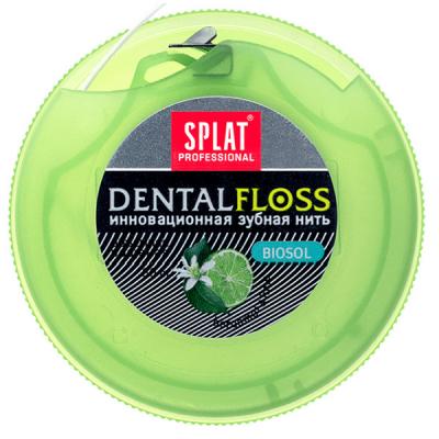 Зубная нить Splat Professional Dental Floss с экстрактом бергамота и лайма (4603014001771)