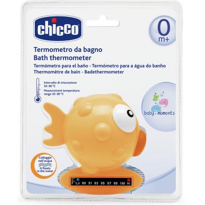 Термометр для воды Chicco Рыбка желтый (06564.00)