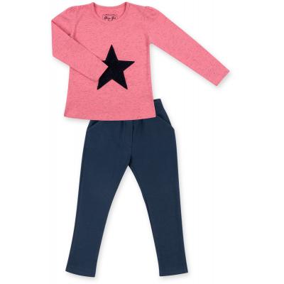 Набор детской одежды Breeze с объемной аппликацией (8401-110G-coral)